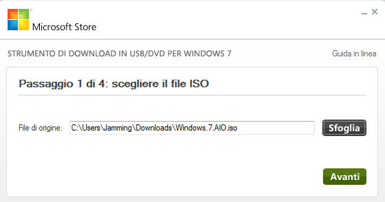 Windows 7 Download Tool Italiano